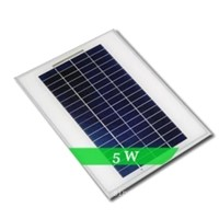 Poly mini solar panel 5w price made in china
