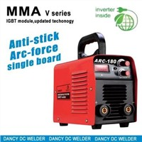 Portable mma welding machines suitable for 265V to 165V input MMA 180
