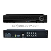 Professional Model DVR Standalone H.264 4Channel D1 Resolution Audio/Alarm/Network DVR
