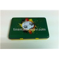 Promotional  tin case,gift metal case,chewing gum tins