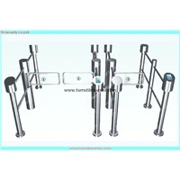 RFID access control swing gate turnstile/luggage access swing turnstile/barrier gate