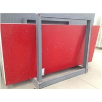 Red quartz big slab for tile and decoration