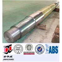 Rough Machined Forged Carbon Steel Boat Propeller Shaft