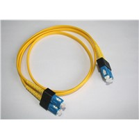SC-PC Single Mode Simplex Fiber Optic Patch Cord