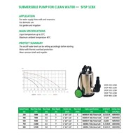 SUBMERSIBLE PUMP FOR CLEAN WATER       SFSP 1CBX
