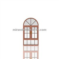 Sandwiched glass Style Arched Windows