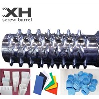 Screw barrel for single extruders