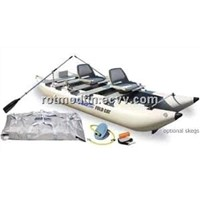 Sea Eagle Boats 375FC_DLX FoldCats Deluxe Inflatable Outdoor Boat