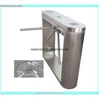 Security Pedestrian Access Control Waist Height Turnstile RS 518