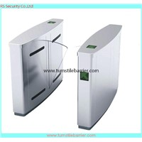 Security Stainless Steel Access Control Flap Barrier Gate Turnstile