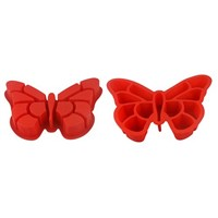 Sedex Audit factory no-stick silicone butterfly cake pan