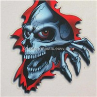 Sell Skull Sticker/JH-CT-018 3M Car Decal/Car Sticker/Car Stickers/Motorcycle Decal Sticker