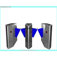 Sensor rfid security flap gate,commercial turnstile gate for store entrance control