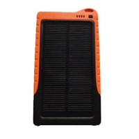 Solar Power Charger PB-SS001, Portable Mobile Power 6900mAh USB Output