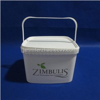 Square Plastic Pail,3kg Detergent Packaging Bucket ,Provide Hot TransferPrinting