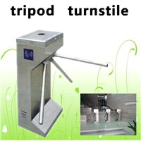 Stainless steel access control automatic barrier gate  tripod turnstile
