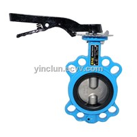 Standard EN593 Cast Iron Butterfly Valves