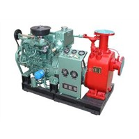 T Series Self-priming Centrifugal Fire Pump , Economical Fire Pump in Handling Slurry