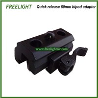 Tactical Quick Release Bipod Adapter, mount adapter, picatinny universal rail adapter