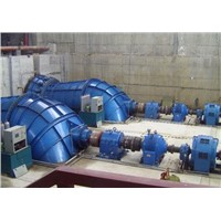 Tubular turbine generator unit / Hydro turbine / Water turbine / Power plant