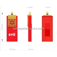 Best promotional gift , USB with Red Traditional Gift Chinese Knot,Ads Data Preloading
