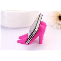Valentine's day gift high heel shoe cell phone holder