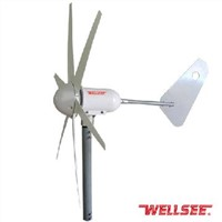 WS-WT 400W WELLSEE 6 leaves Wind Turbine/ A horizontal axis wind turbine