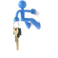 Wall Mounted Key Holder Novel Item/ new gadget strong magnet key chain holder