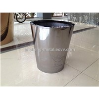 Well quality flower pot with stainless steel material