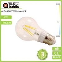 Wholesale newest led filament bulb 4W E27 360 degree led filament bulb