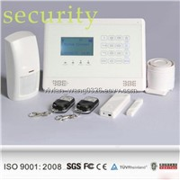Wireless GSM SMS Home Burglar Security Alarm System with Door Sensors and PIR Detectors