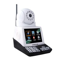 Wireless pan tilt smart ip network camera video ip camera