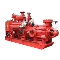 XBC Multistage Single Casing Centrifugal Fire Pump Systems Mechanical Seal Multistage