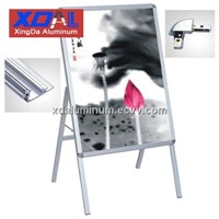 XD-J-L01 Aluminum alloy standing signs display stand adjustable poster for theater