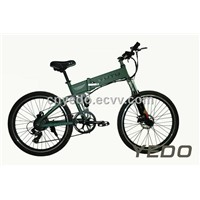 YD-LB-26YT07 26er folding electric mountain bicycle 36V,250W