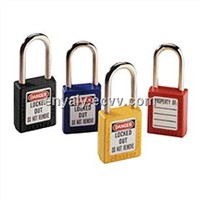 ZC-G11 CE certification approved long shackle ABS safety padlock