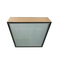 aluminum seperator HEPA air filter,H14,H13