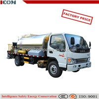 asphalt pavement maintenance truck