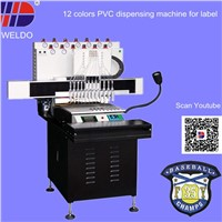 automatic PVC label making machine with high efficient