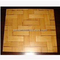 bamboo pallet for block machine