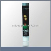cosmetic packaging tubes for hair colorant
