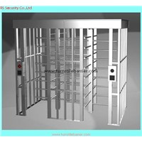 electric magnetic lock 304 stainless steel biometric full height turnstile