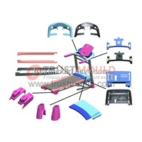 fitness equipment mould
