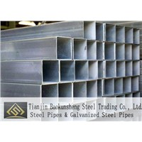 galvanized carbon steel square pipes