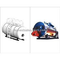 gas/oil fired boiler