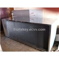 heat exchanger for food processing line