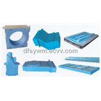 horizontal mould
