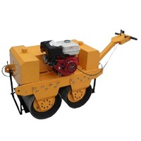 mini double drum road roller