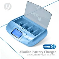 nimh,nicd,lithium and alkaline universal battery charger with CE ,FCC,ROHS