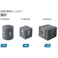 outdoor waterproof IP65 LED wall light 24vdc rgb 9W led wall light